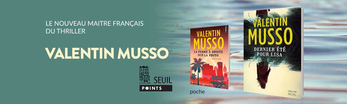 Les romans de Valentin Musso