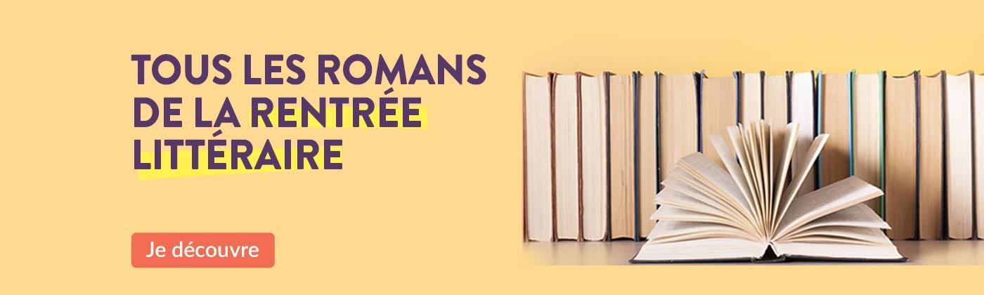 Les romans de la rentrée littéraire