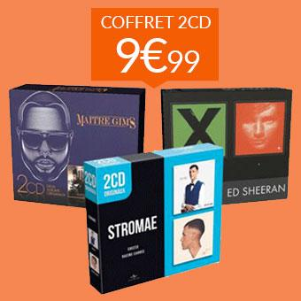 Coffrets 2CD à 9.99€
