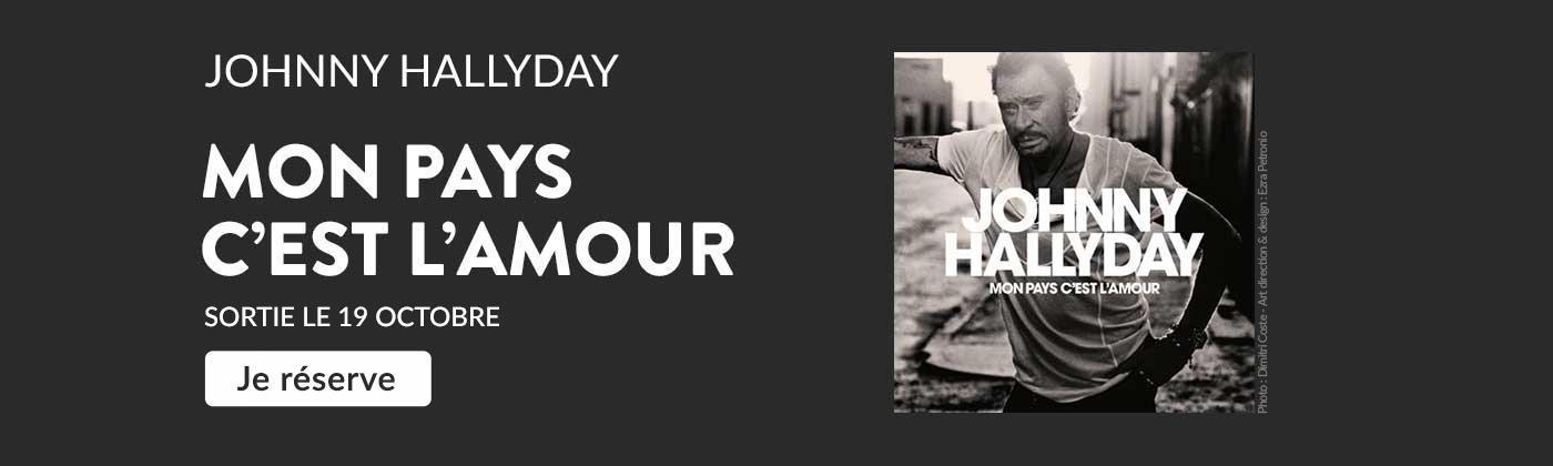 Johnny Hallyday - Réservez son dernier album