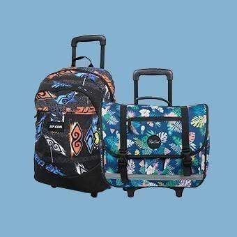 Cartables et sacs à roulettes