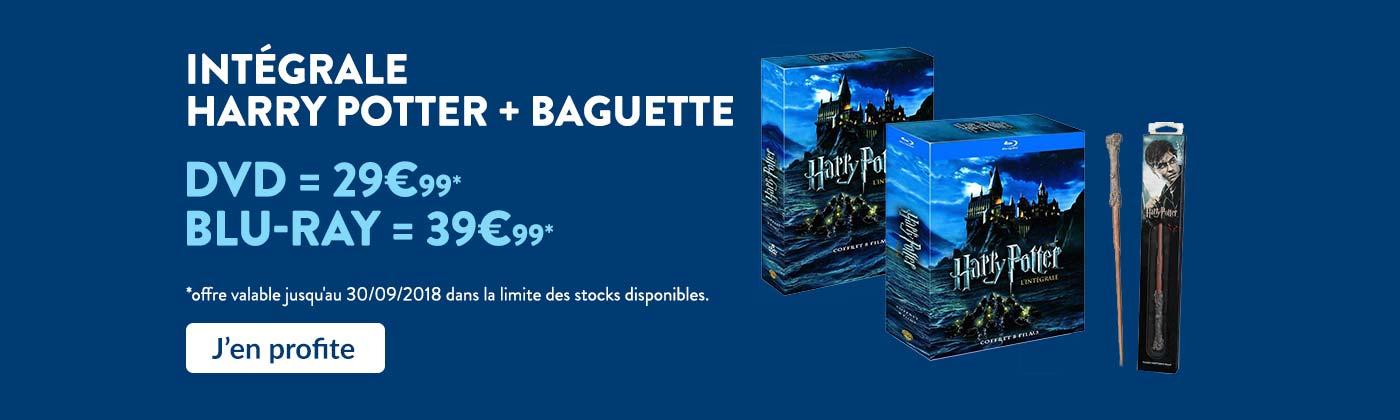 Bon plan coffret baguette Harry Potter