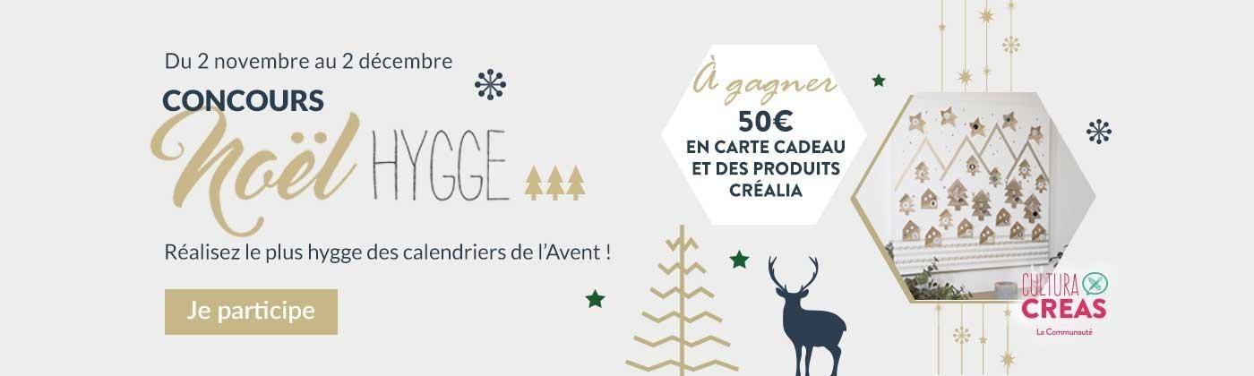 Je participe au concours Noël Hygge